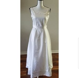 Girls White Special Occasion Dress